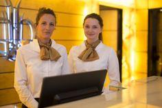 Our reception team Donata & Karina ;-)