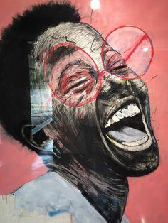 Johannesburg - Nelson Makamo 'New works' exhibition Circa. April 2015