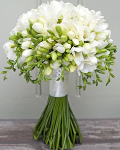 Freesia bouquet... imagine how wonderful it smells!