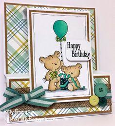 LOTV - Happy Bears Stamp Set by Kitty Frampton