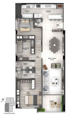 Top 40 3D Floor Plan Ideas - Engineering Discoveries Japan House Design, House Floor Design, Sims 4 House Design, Small House Design, Free House Plans, Sims House Plans, Small House Floor Plans, House Layout Plans, Home Building Design