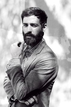 men's fashion // #fashion #style #beard