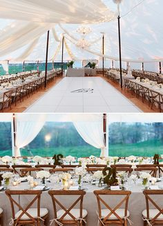 This romantic estate wedding is truly the definition of lovely. Prepare to be dazzled by not one but two gorgeous celebrations that make up this epic wedding weekend. #weddingtent #reception