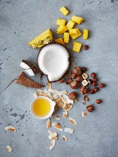 clustered ingredients — Marcus Nilsson for Chobani