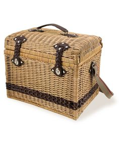 Picnic Time Picnic Basket, Yellowstone Moka - Outdoor Dining & Picnic - Dining & Entertaining - Macy's