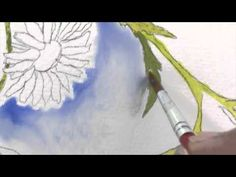 How to Paint Background - Watercolor Painting Tutorial