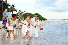 Riviera Maya symbolic weddings.