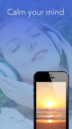 The app calm has some nice animated backgrounds with soothing sounds and scenery, with several easy to use meditation options. Free Meditation, Meditation Crystals, Mindfulness Meditation, Guided Meditation, Calm App, Relaxing Gif, Yoga Nidra, Train Your Brain, Best Apps