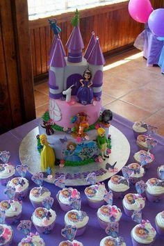 """""""Sofia the First Cake"""""""