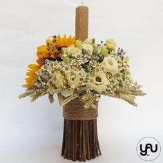 Baby Baptism, Baptism Dress, Christening, Diy Flowers, Flower Diy, Floral Design, Vase, Candles, Artist