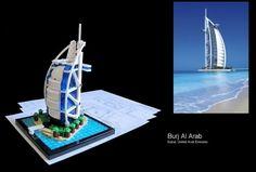 É um arranha-céu localizado em Dubai, nos Emirados Árabes, sendo a maior estrutura e, consequentemente, o maior arranha-céu já construído pelo ser humano, com 828 metros de altura. Sua construção começou em 21 de setembro de 2004 e foi inaugurado no dia 4 de janeiro de 2010. O edifício faz parte de uma complexo comercial e residencial de dois quilômetros quadrados. #AmoLego