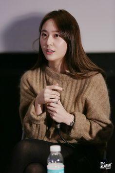 150317 f(Krystal) = W Korea Movie Project Woman, Man 'Please Listen To My Music' Krystal Fx, Jessica & Krystal, Jessica Jung, Snsd Fashion, Korean Fashion, Girl Fashion, Cute Girls, Cool Girl, My Girl