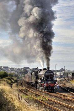 Train Art, By Train, Train Tracks, Old Wagons, Steam Railway, Train Times, Diesel, Train Service, Railway Posters