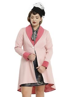 Fantastic Beasts And Where To Find Them Queenie Coat Plus SizeFantastic Beasts And Where To Find Them Queenie Coat Plus Size, PINK