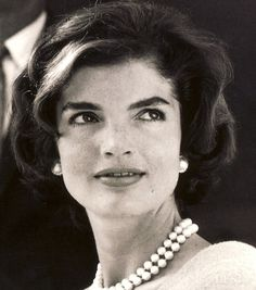 Jackie Kennedy with that mysterious, beautiful gaze