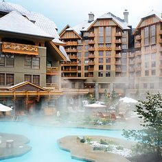 "The Four Seasons Whistler    Whistler, B.C.    Stay at enough ski resorts, and it can feel like everything comes out of the same faux-Bavarian mold. Which is why the Four Seasons Whistler, despite being a huge ski-in/ski-out resort, wins with its intimate feel. Maybe it's the servers in white fuzzy hats who take your drink order while you're soaking in the slopeside hot tubs. Or the ski concierge who ""unbuckles your boots, for crying out loud,"" says our scout."