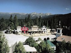 THE PONDEROSA RANCH: The home of the mythical Cartwright
