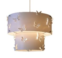 Light up your living space with this vintage-inspired lamp shade from Sass and Belle.