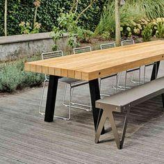 Do Pergolas Give Shade Diy Garden, Garden Table, Privacy Walls, Concrete Wood, Iron Table, Coffe Table, Patio Roof, Pergola Designs, Rustic Table