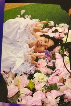 Super Junior, Kim Heechul, Korean Artist, Floral Wreath, Waves, Kpop, Heavenly, Diva, Bb