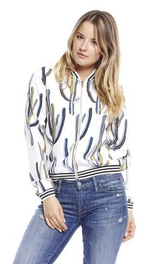 A stylish bomber that will rock any outfit.