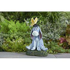 "Disney 11.5"" Eeyore Statue - Outdoor Living - Outdoor Decor - Lawn Ornaments  Statues"