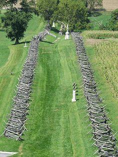 Antietam    Bloody Lane