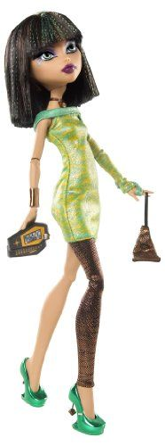 Monster High Dawn of The Dance Cleo De Nile Doll http://www.amazon.com/Monster-High-Dawn-Dance-Cleo/dp/B003WOJLAG/