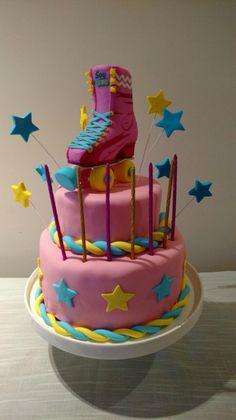 """Torta de cumpleaños """"Soy Luna"""""""