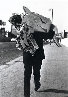Jacques Villegle  Paris, February 14. 1961