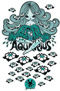Aquarius by Junko Mizuno