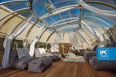 Patio dome in Korea - outside comfort in any weather
