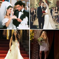 The Best Dressed Brides on Television! Are you taking inspiration from these silver screen brides for your wedding day look?