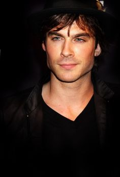 Ian Somerhalder aka Christian Grey.