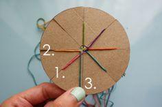 woven friendship bracelet tutorial // Michael Ann Made