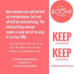 #Inspiration #Education #BlackWomen #Business #Entrepreneurship #History #BabyBoomers #GenerationX