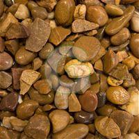 Quartz Gravel 20mm- Offers a wonderful natural brown colour