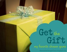 Baby Shower Game: Pass the Prize or Get the Gift...fun poem to read to pass the gift around and ends up with the mother-to-be
