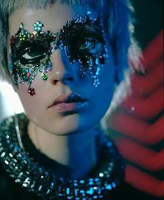 Maquillaje tendencias teatrales 2015