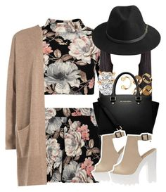 """11-15-15"" by no-flex-zone ❤ liked on Polyvore featuring Charlotte Russe, Allurez, Warehouse, MICHAEL Michael Kors, HUGO, BeckSöndergaard and Marc by Marc Jacobs"
