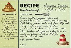 Blank Recipe Cards Printable pintrest | Recipe Card
