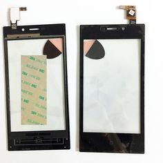 Công cụ + Màn Hình Cảm Ứng 4.0 Inch Cho Highscreen Zera F rev. S Màn Hình Cảm Ứng Bảng Điều Khiển Phía Trước Cảm Biến Digitizer Glass + 3 M Sticker