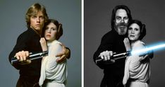 Almost two generations have passed since the first Star Wars film was released in cinemas, and over the last 38 years, a total of six feature length movies have graced the silver screen. Now, with Episode VII already released to select audiences, is the perfect time to see how our beloved actors have changed over the years.