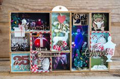 Crafty by AgnieszkaBe: shadow box Shadow Box, Altered Art, Scrapbooking, Crafty, Day, Frame, Home Decor, Picture Frame, Scrapbooks