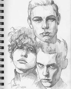 Sketchbook portraits