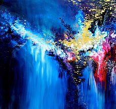 Melissa S McCracken has synthasia and paints what music looks like.