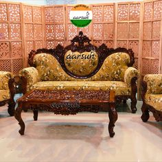 Wooden Sofa Set, Wood Sofa, Living Room Sofa, Living Room Furniture, Victorian Sofa, Traditional Sofa, Center Table, Best Sofa, Colonial