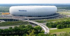 """Allianz Arena"". # Munique, Alemanha."