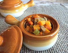 This crock pot Paleo beef stew recipe is made with beef and sweet potatoes but would be good with parsnips. Paleo Recipes, Real Food Recipes, Cooking Recipes, Yummy Recipes, Clean Eating Recipes, Healthy Eating, Paleo Soup, Paleo Life, Paleo Dinner