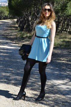 Baby Blue Dress http://oneusefashion.wordpress.com/2014/04/11/baby-blue-dress/